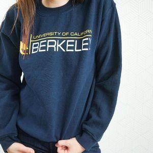 Sweaters - University Of Berkeley California Graphic Crewneck
